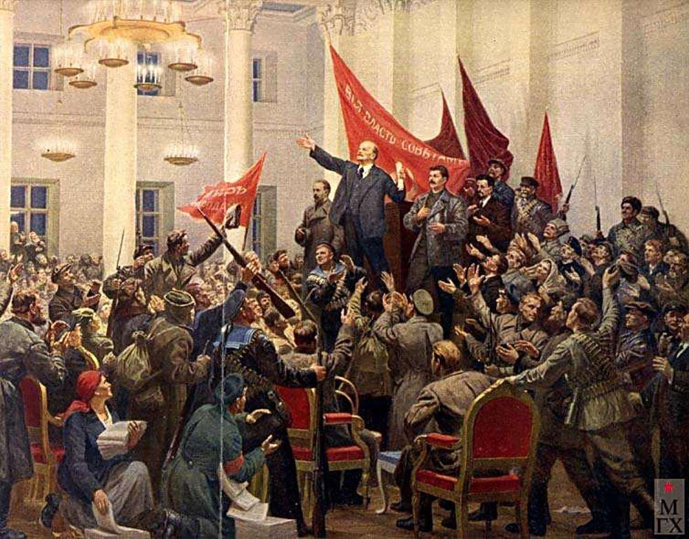 Lenin prijal podporu nemeckého cisára, inak by neuspel