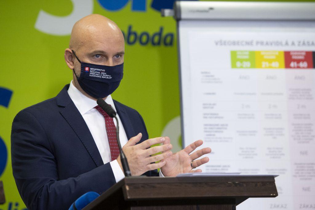 Minister Gröhling navrhol návrat žiakov do škôl na 8. december, rozhodne sa asi v utorok