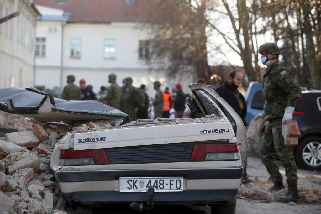 Chorvátsko: sedem mŕtvych, zničené mesto Petrinja