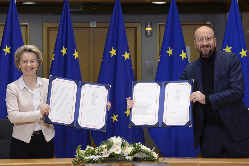 Obchodná dohoda Európskej únie s Britániou by mohla platiť od zajtra