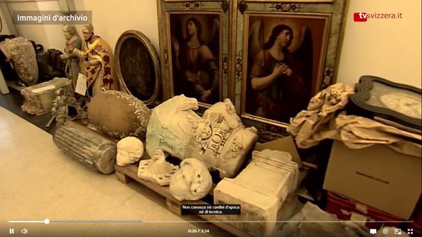 Švajčiarsko vrátilo Taliansku 27 umeleckých diel nevyčísliteľnej hodnoty