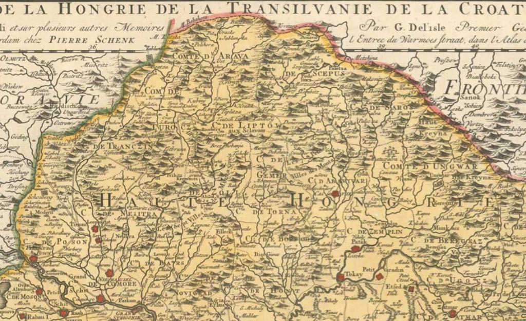 Slovák ország, Slovakia, Windenland. Ako volali Slovensko pred stáročiami