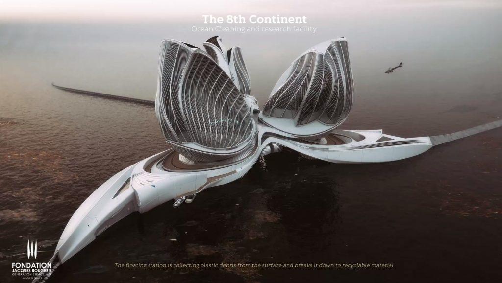 Ôsmy kontinent slovenskej dizajnérky vyhral prestížnu cenu. Môže vyčistiť oceány od plastov