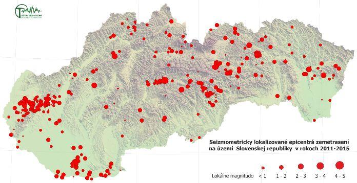 Zemetrasenie pri Handlovej nesúviselo s banskou činnosťou