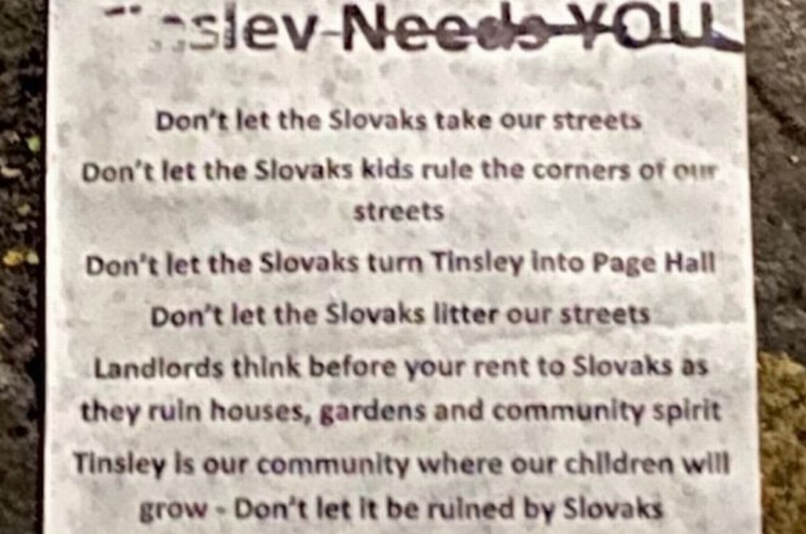 Preč so Slovákmi: V anglickom Sheffielde broja proti Rómom zo Slovenska