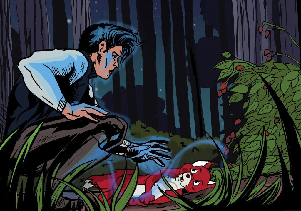 Dobšinského Čiernovlasý princ ožíva v komikse