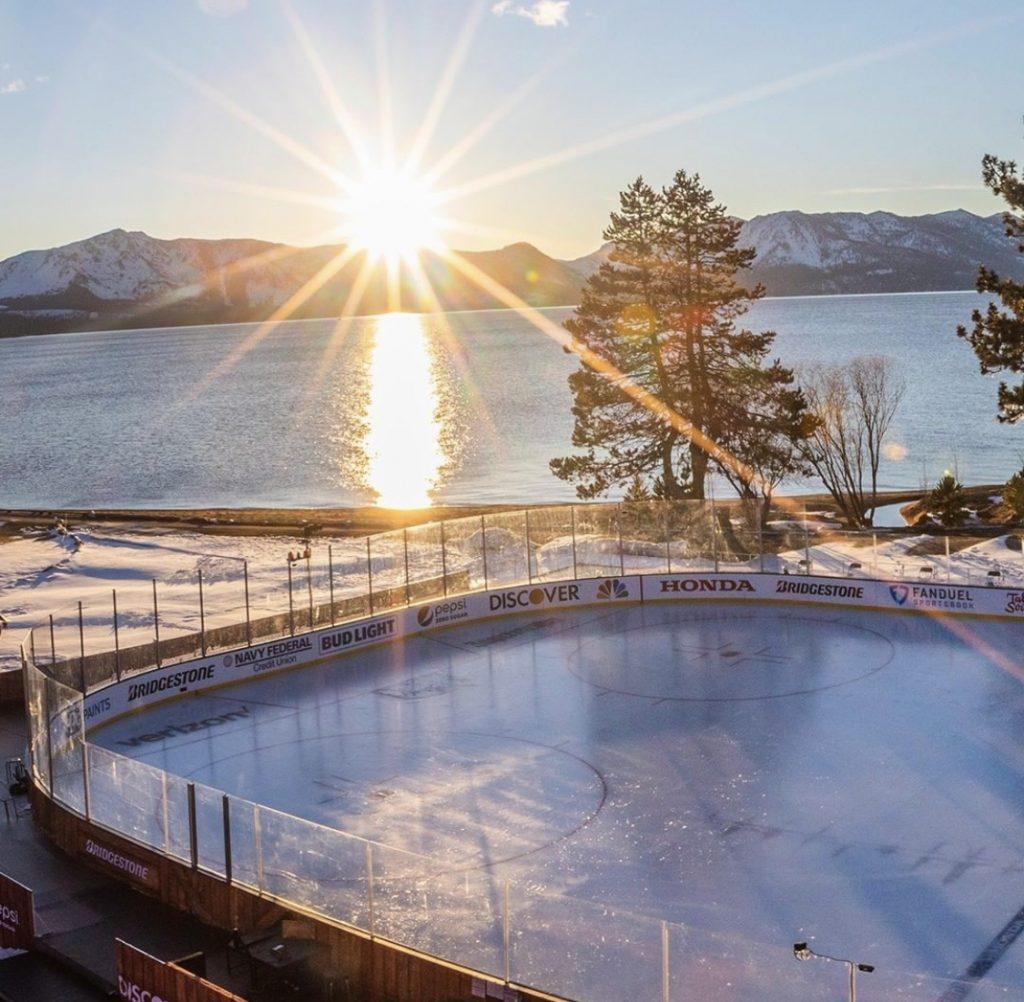 NHL vyšiel zápas na jazere až na druhý pokus