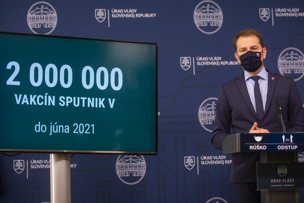 Sputnik zrejme poputuje do zahraničia. Matovič: Argentína chce toľko, koľko sme ochotní predať