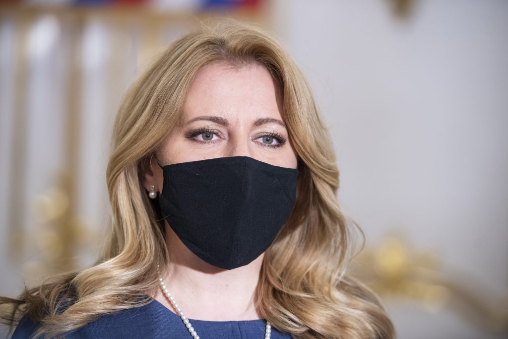 Čaputová: Ak by Matovič podal demisiu, post premiéra stále patrí OĽaNO