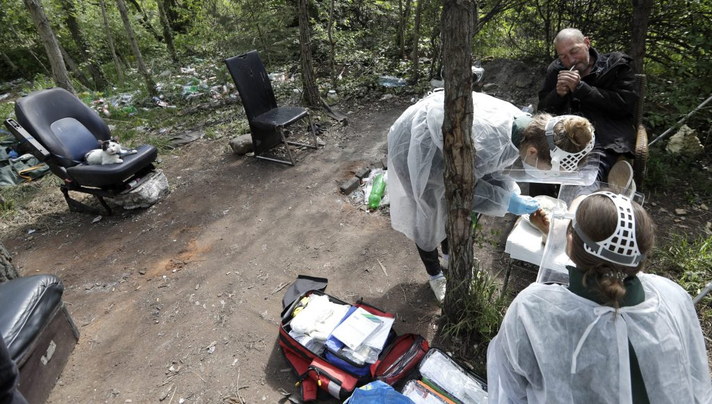 Vagus: Bezdomovec v Bratislave dostal pokutu za porušenie zákazu vychádzania
