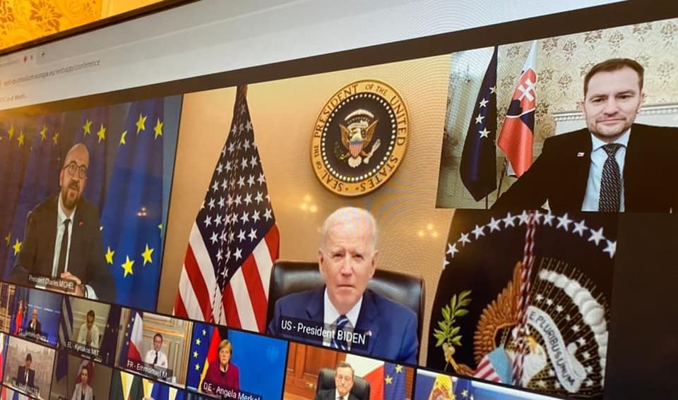Ak podá Biden demisiu, tak odstúpim, žartuje Matovič
