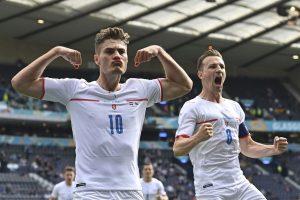 Českí futbalisti majú po remíze s Chorvátskom blízko k osemfinále