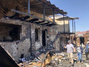 Požiar v slovenskej enkláve na poľskom Spiši: 21 rodín prišlo o strechu nad hlavou